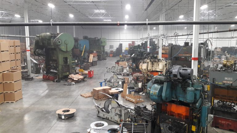 Stamping Presses for Production Metal Stamping