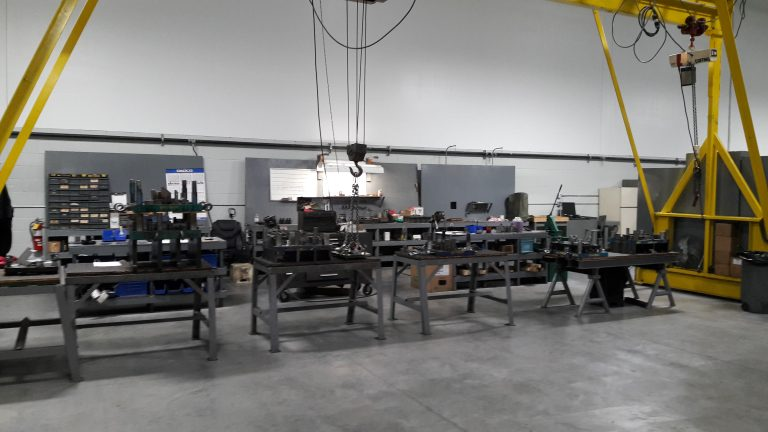 Progressive Die Build Center for Production Metal Stamping