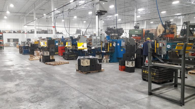 Production Welding Centers for Production Metal Stamping