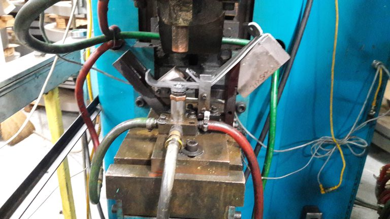 Production Welding Cell for Production Metal Stamping