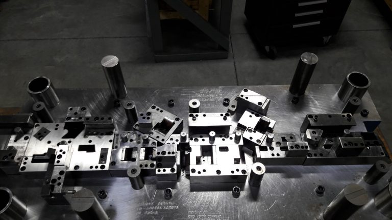 Progressive Die for Production Metal Stamping